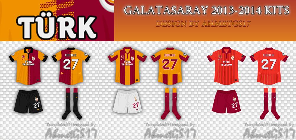 Galatasaray 2013   2014 Forma   Nerileri