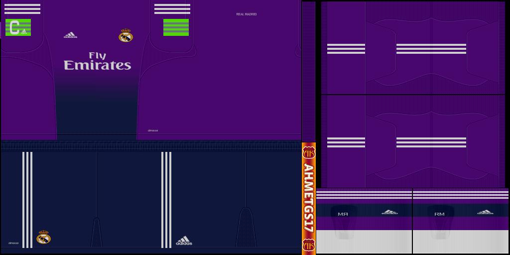 Real madrid 13 14 home gk kit final pes2013 by ahmetgs17 designs