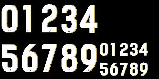 numbers-B